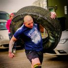 Leeat a Strongman competition