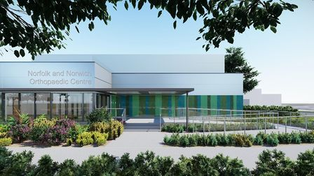 A new £11m orthopaedic centre is set to be built at the Norfolk and Norwich University Hospital (NNUH).