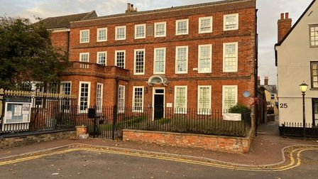 The Grade II Listed Vicarage Hub, which will be the new home of several independent businesses.