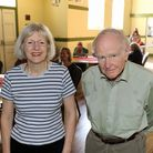 Maggie Vaughan and Dr Roger Polhill of the Aylsham Town Archive presented a talk about the Orchards building.
