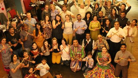 The group that attended Namaste Village's previous successful event in 2019.