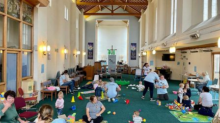 A busy parent toddler group