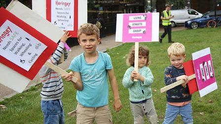A march took place across Haringey onSeptember 26 calling for action from the council to tackle climate issues