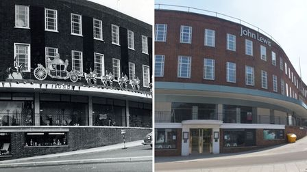 Before it was John Lewis, Bonds department store had been a Norwich institution for morethan 100 years.