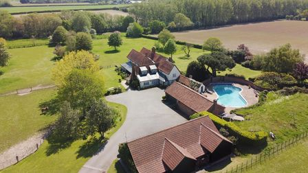 This stunning six-bedroom property is currently on the market for £2.5 million