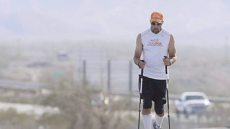 Bill Bucklew is walking from Scotland to Hackney to raise cash for Parkinson's charities.