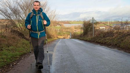 John MacPhee will join his friend for the Scottish leg of the walk.