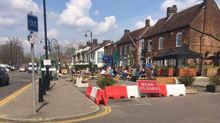 There is concern removing free parking from Stevenage High Street could have a devastating impact on