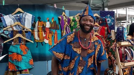 Robert Salewon (pictured) started the Norwich Global Village Market with his wife Sophie Bremner.