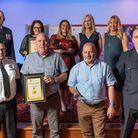 Cambridgeshire Fire & Rescue Service staff recognised at awards.