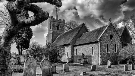 The Herts in Focus charity photography exhibition includesAlan Skipp's picture'Church of St Mary and St Thomas, Knebworth'
