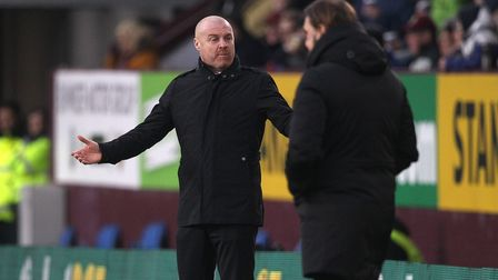 Burnley Manager Sean Dyche during the FA Cup match at Turf Moor, Burnley Picture by Paul Chesterton