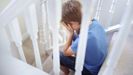 Many children suffer fromafter-school restraint collapse.