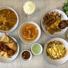 An array of dishes from Ruby Murray in Lever Street, Finsbury