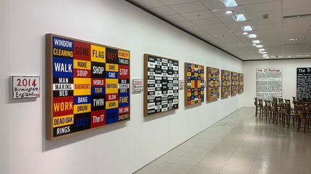 Artist Bill Drummond's exhibition -WHO ARE MY UNCLE?- is currently on display at Primeyarc in Market Gates.
