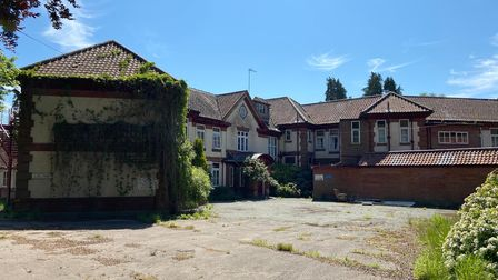 Pine Heath nursing home in High Kelling, which contained boxes of patient records, staff notes and s