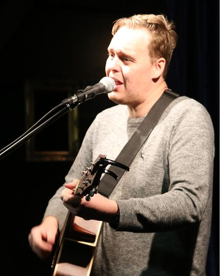 Local singer/guitarist James Maple will perform at the Market Theatre in Hitchin.
