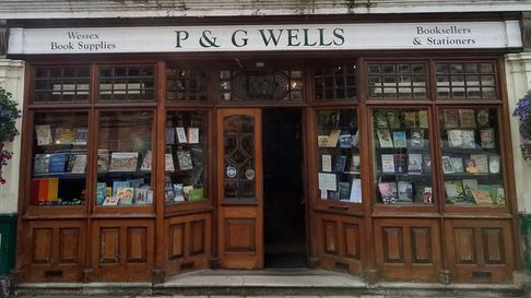 P&G Wells is a long-established favourite book shop in Winchester