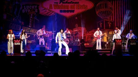 A Vision Of Elvis will be performed at the Playhouse.