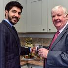 Abdul Khan and Ged Dempsey of the Supported Housing Fellowship