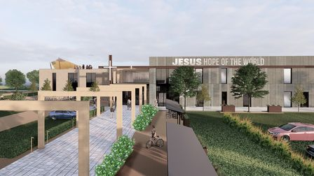 An artist's drawingof the new Norwich Soul Church. Picture: Soul Church.