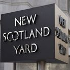 File photo dated 3/2/2017 of the New Scotland Yard sign outside the headquarters of the Metropolitan