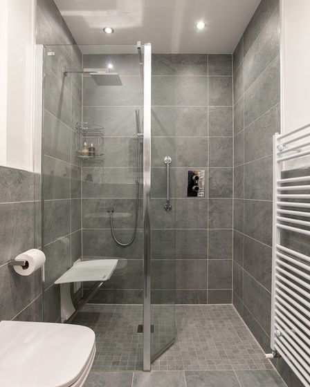 BMAS mobility bathroom with walk in shower