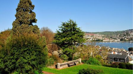 Views over the Teign from the Botanical Gardens