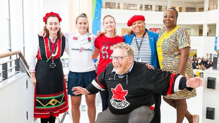 Staff at Thomas Clarkson Academy marked languages week in style