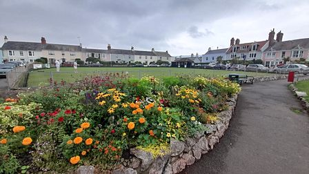 The Green at Shaldon was given to the village by Lord Clifford so that fishermen could dry their nets.