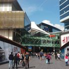 The Westfield Shopping Centre Stratford
