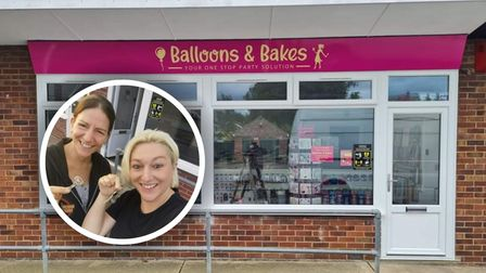 Families are invited to the grand opening of Balloons and Bakes in Old CattononSaturday October 2.