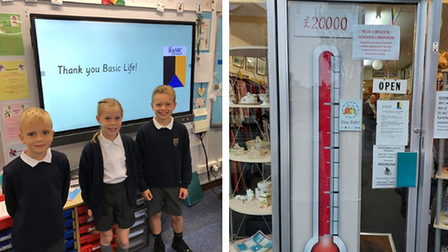Colneis Junior School received an interactive board along with eight other schools thanks to donators.