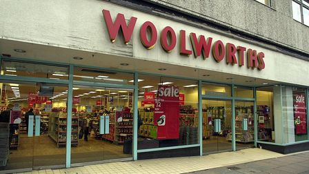 Woolworths store on St Stephens Street in Norwich.<Picture: James Bass> edp 7/1/03