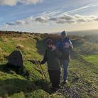 Friends on the Two Moors Way who didn't need rescuing!