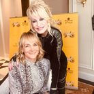 Louise Minchin and one of her favourite interviewees, Dolly Parton