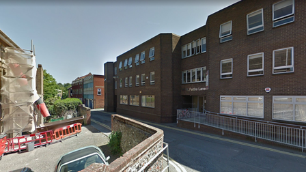 St Faiths Lane, behind Prince of Wales Road in Norwich, has been blighted by rat issues