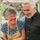 Maggie, our Dorset contender in GGBO with Paul Hollywood