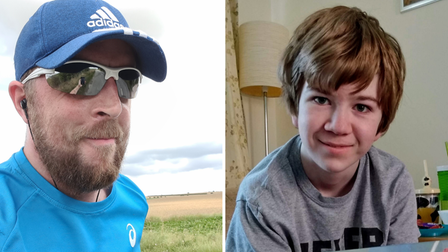 Teacher Ryan Thomas will take on the London Marathon in memory of Andy Madden from St Neots.