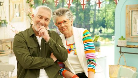 GBBO judges Paul and Prue