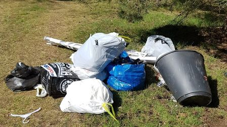Evidence found at the scene and public support helped to identify the source of the dumped waste.