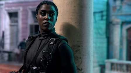 Nomi (Lashana Lynch) is ready for action in Cuba in No Time To Die.