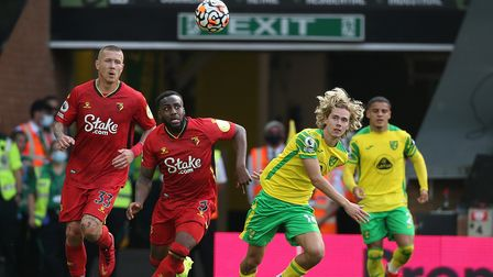 Todd Cantwell has picked up an Achilles issue after his return to training at Norwich City