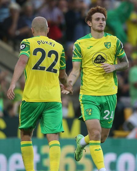 Teemu Pukki and Josh Sargent linked up well in spells against Watford