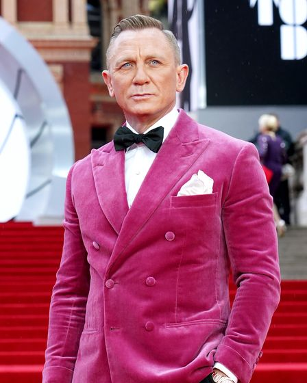 File photo dated 28/09/21 of Daniel Craig attending the World Premiere of No Time To Die, at the Roy