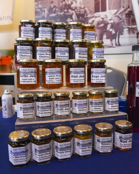 Cromer Kitchen's products for sale at Aylsham Food Festival. Picture: Danielle Booden