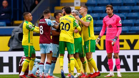 Norwich City ground out a first Premier League point of the season at Burnley