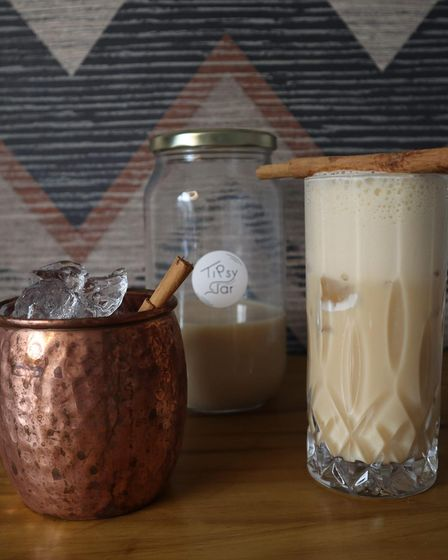Cocktails made and delivered to your door by Norwich-based business Tipsy Jar.