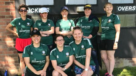 Members of theAylshamWomen's Cricket Team have marked a first successful season.
