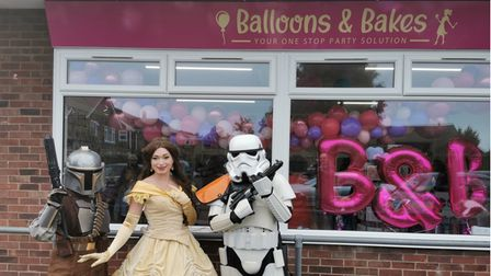 Balloons and Bakesopeneditsdoors for business on Saturday October 2 in Old Catton.